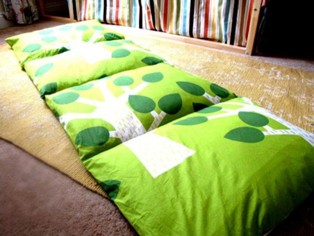 She buys cheap pillows and creates unforgettable gifts for for Kids craft bed