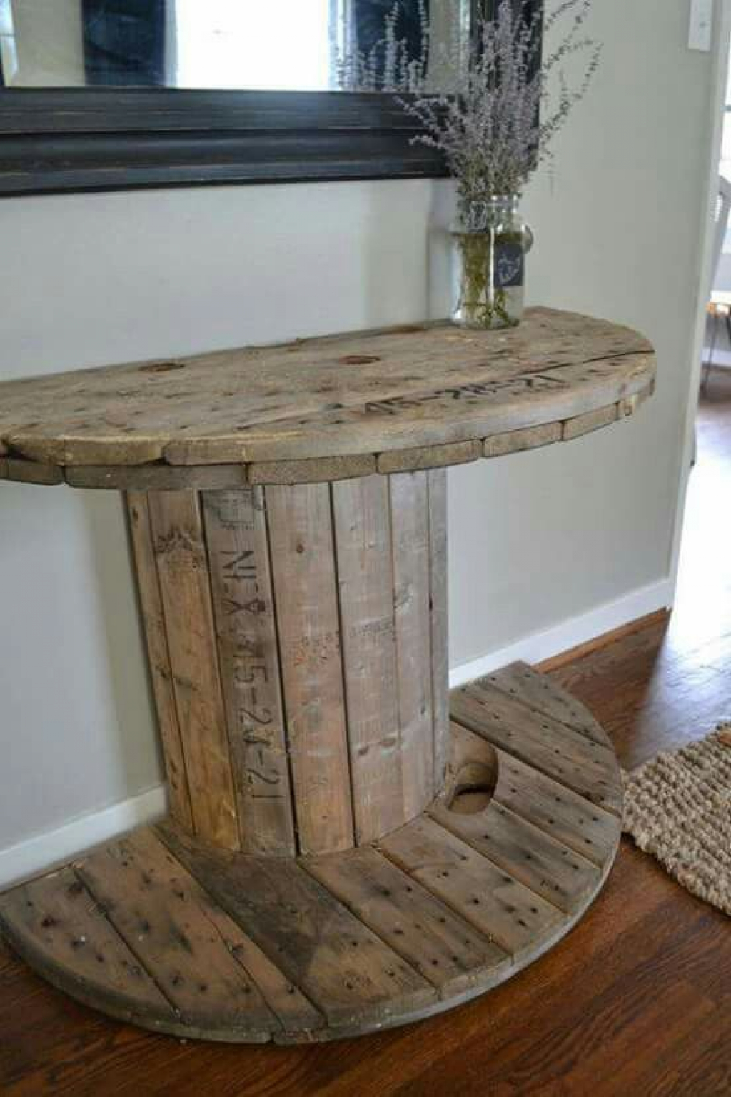 Inspirational ideas with an old electric wire spool or an wooden ...
