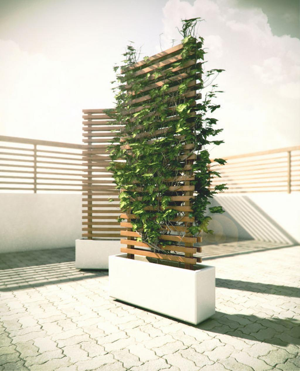 outdoor space dividers - 736×909