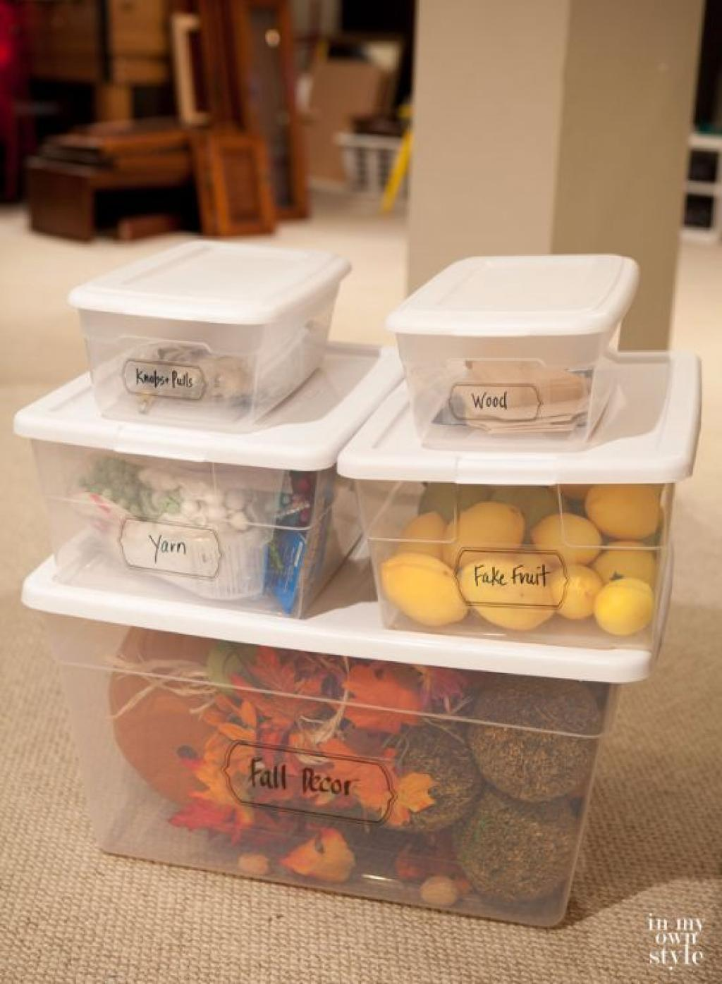 Get Yourself Some Cheap Plastic Boxes And Copy These Clever Storage Ideas To Organize The House
