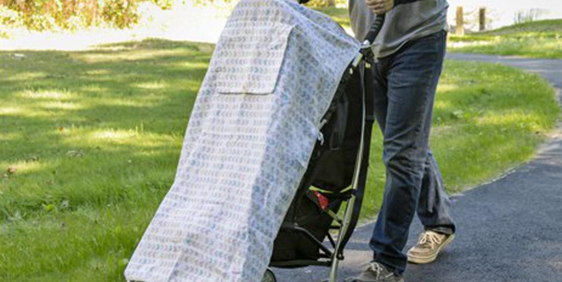 This is why you should never cover a child in a stroller to protect them from the sun! Parents, please spread this information!