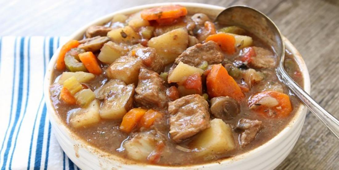 The best slow cooker beef stew recipe!