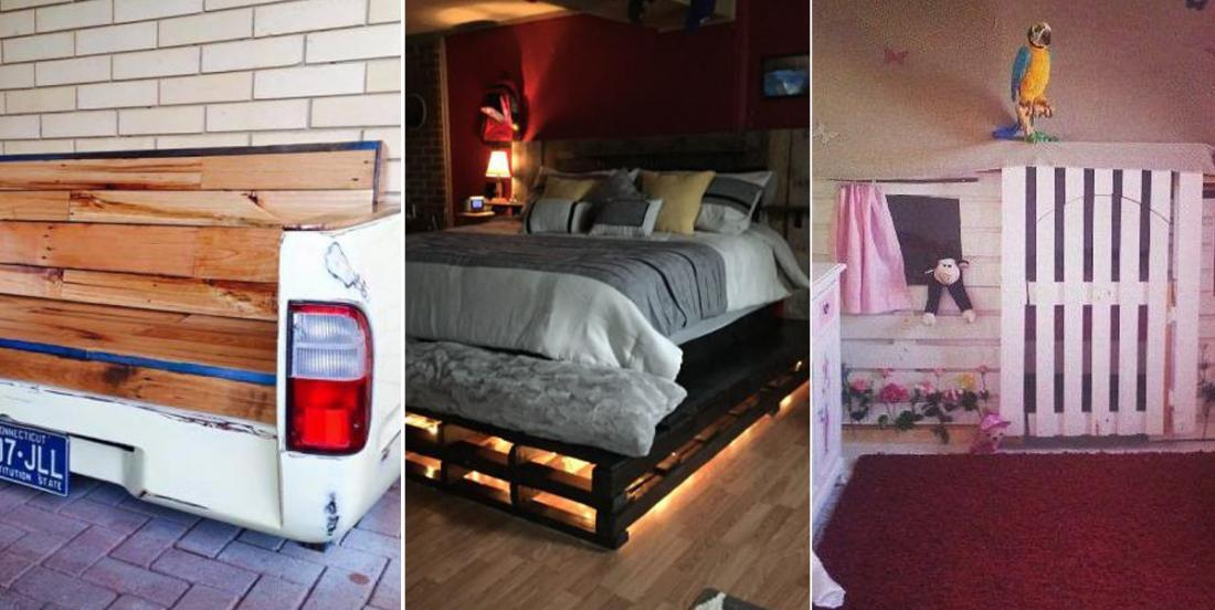 Here are 11 original projects made from wood pallets