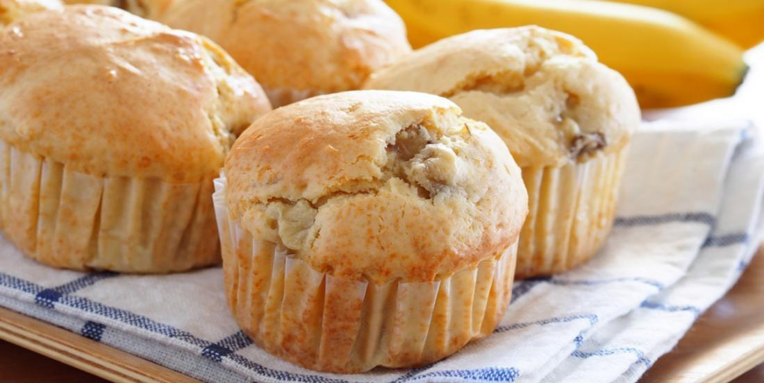 The best banana muffins in the world require these 2 ingredients!