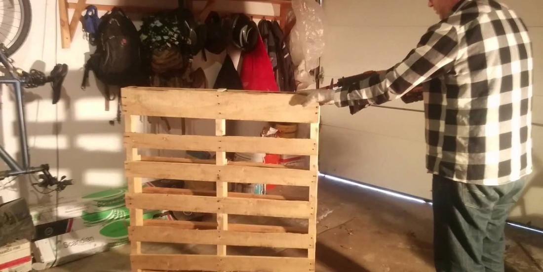10 creative ways to organize the vestibule with wooden pallets!