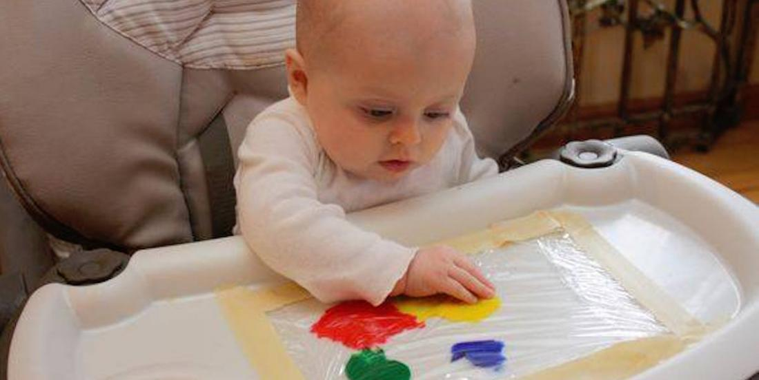 Here are 11 DIY activities to help stimulate baby