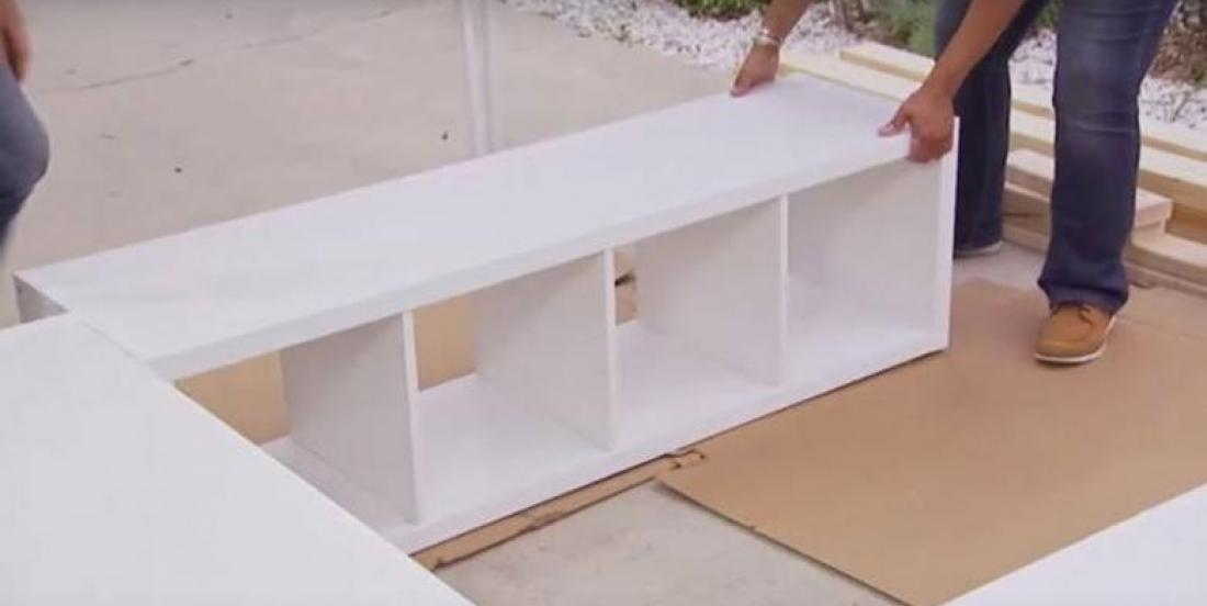 With this simple IKEA item, she reveals how to add storage space in your bedroom!