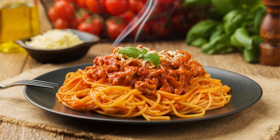 My spaghetti sauce is totally basic, but it's that secret ingredient that makes it the best!
