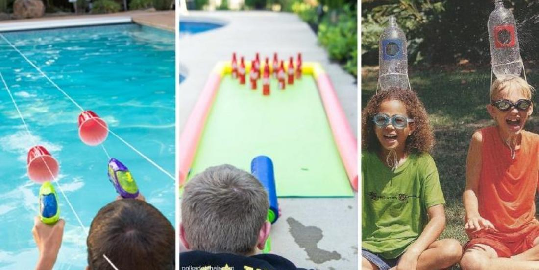 10 super cool water games, to try with kids this summer!