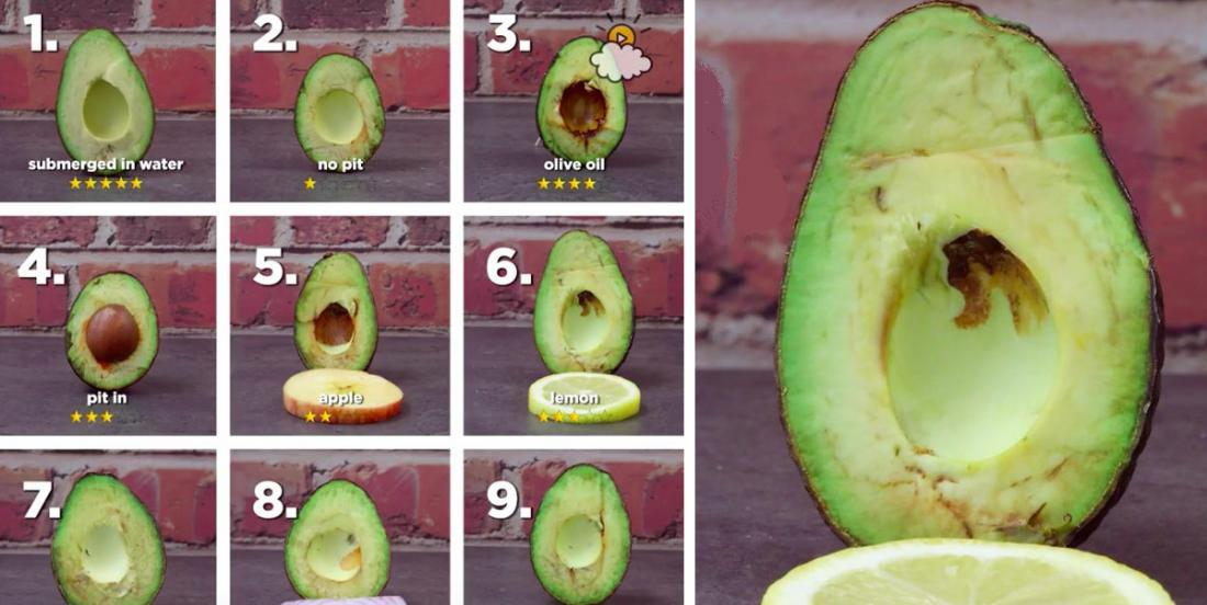 I always thought lemon was the best way to keep avocado fresh! But it's wrong!
