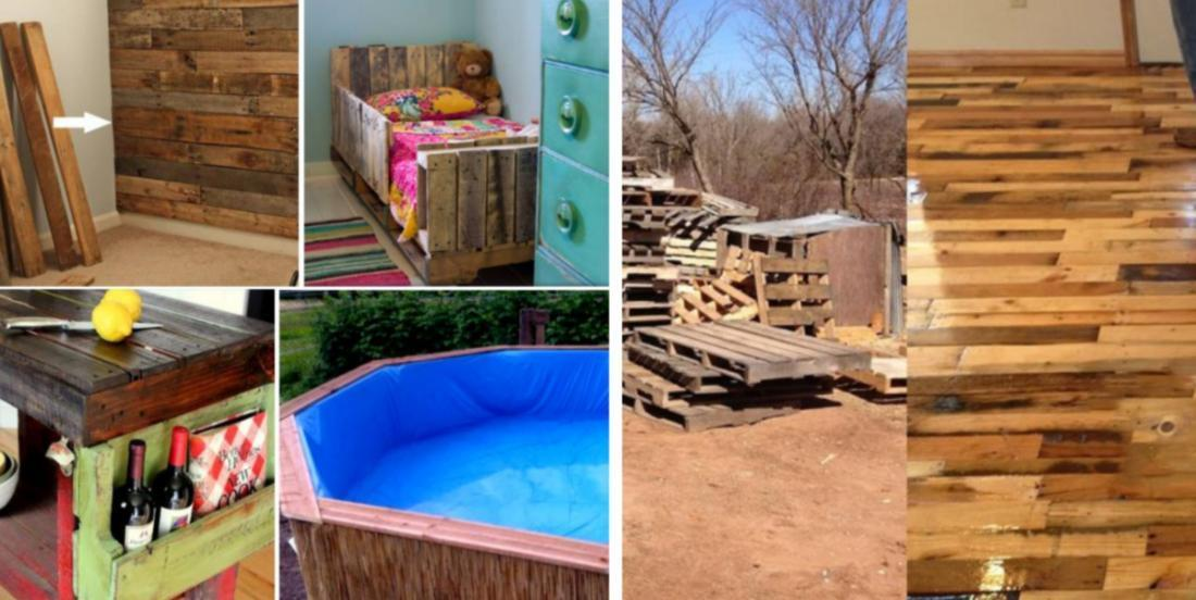 Here are 17 wooden pallet projects that you can easily recreate yourself