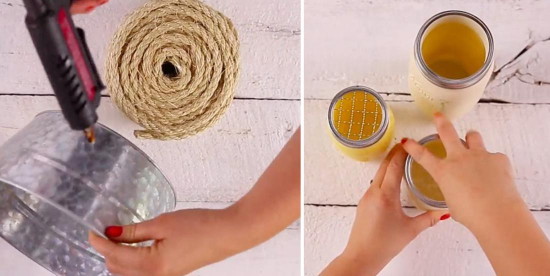 Here are 3 simple projects to add a little decor to your bathroom