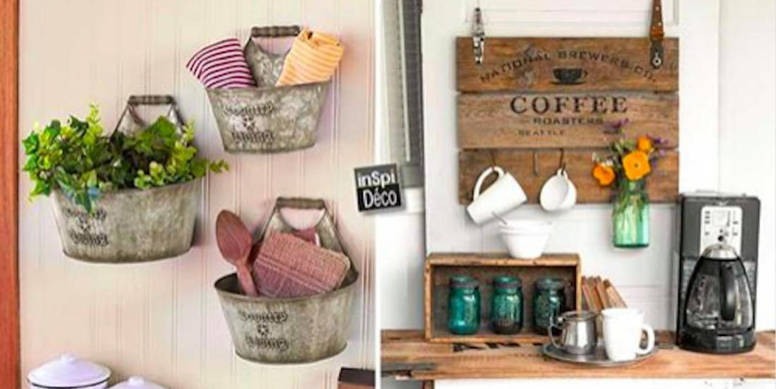 Here are 13 inspiring ideas for a country chic decor
