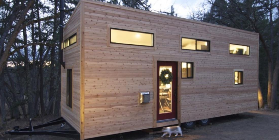 Take a look at this tiny home and discover a unique interior.