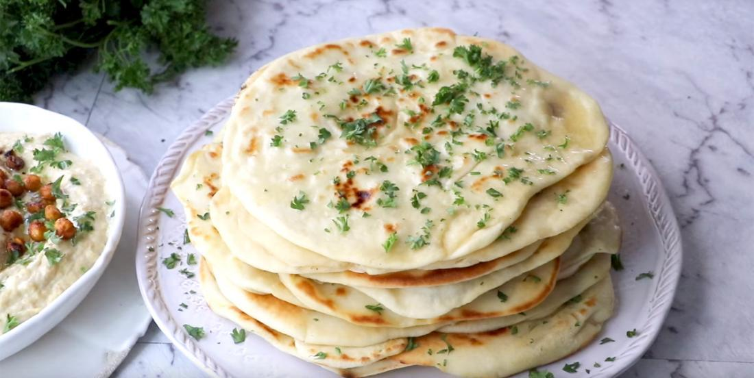 Naan breads easy recipe