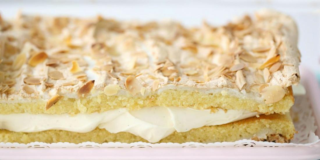"""This norwegian cake was voted """"best cake"""" by the team of My Fourchette"""