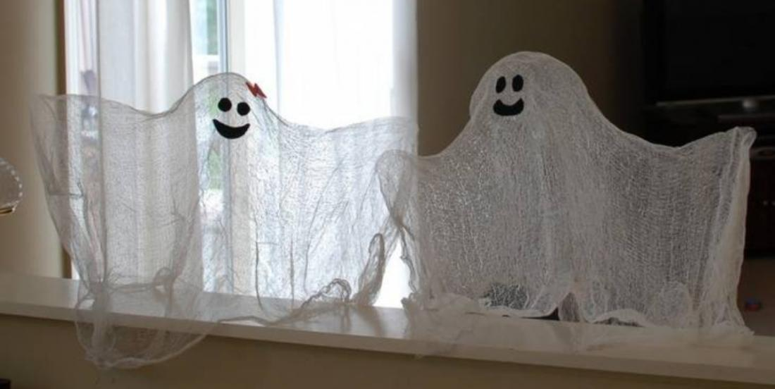 Discover the secret for making these floating ghosts