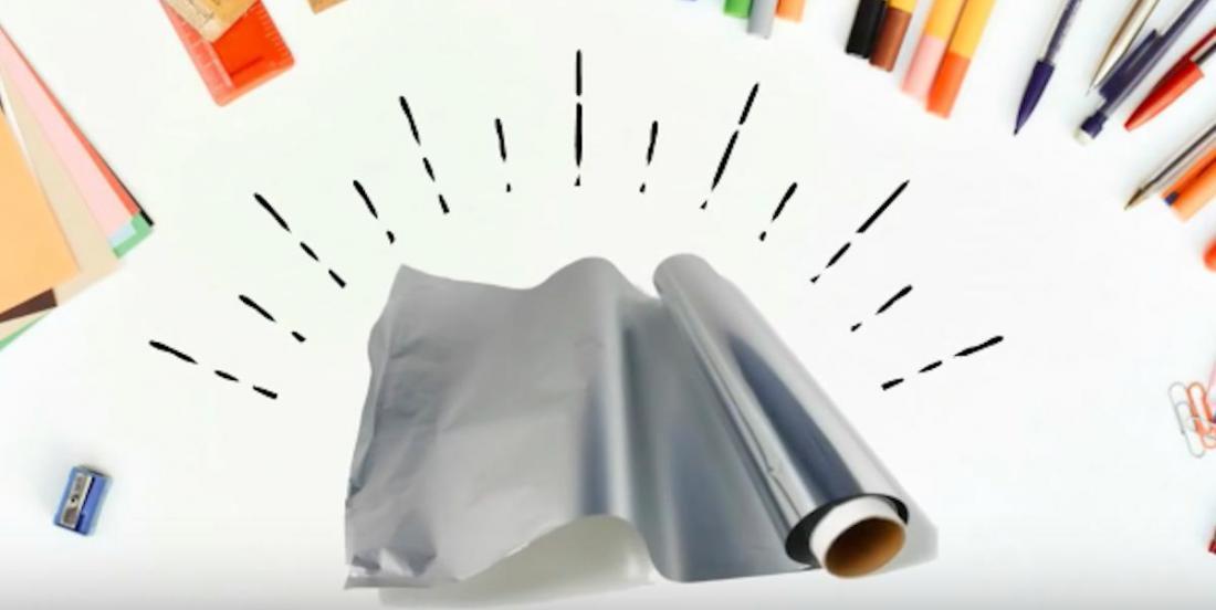 7 unsuspected uses of aluminum foil