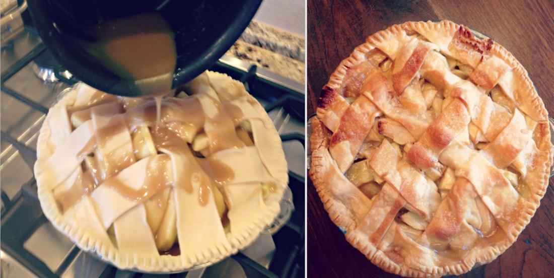 Grandma's apple pie, the best of all!