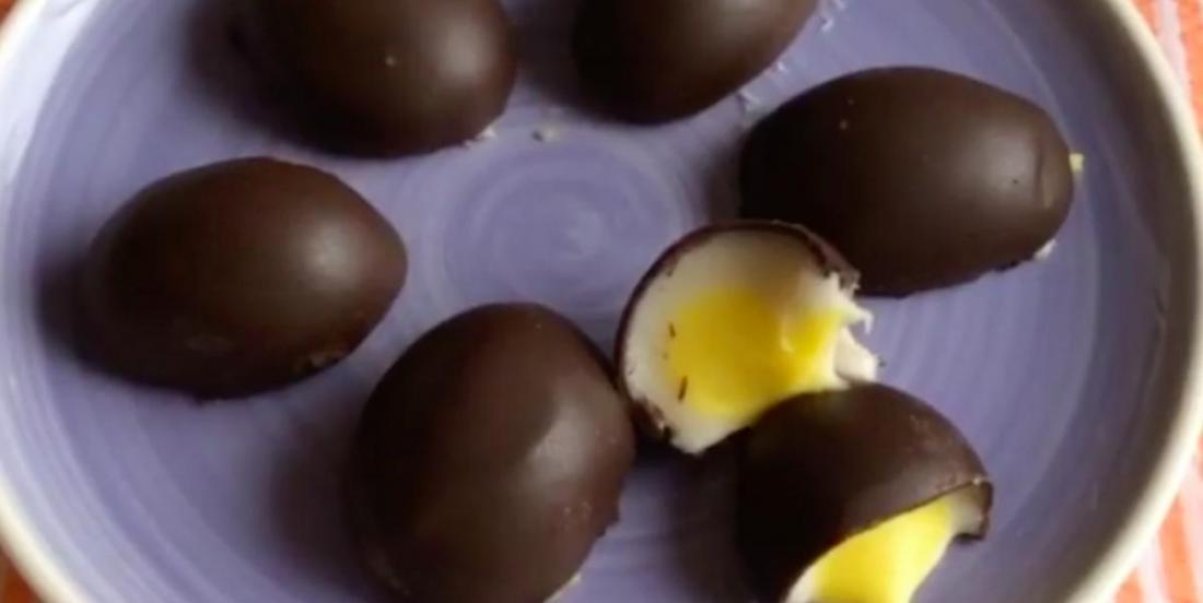 Here is how to make your own Cadbury eggs!