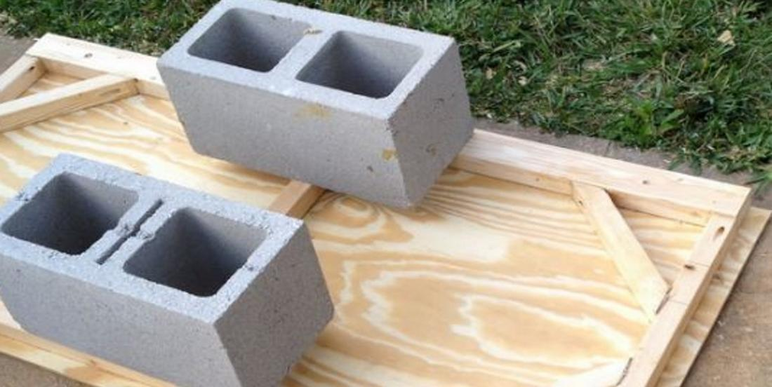 She picks up ordinary concrete blocks and realizes something extraordinary for her family!