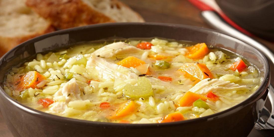 My chicken and rice soup, a family tradition for everyone!