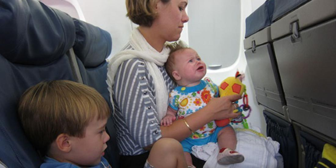 On my last trip, a baby delivered this message to all passengers on the flight: