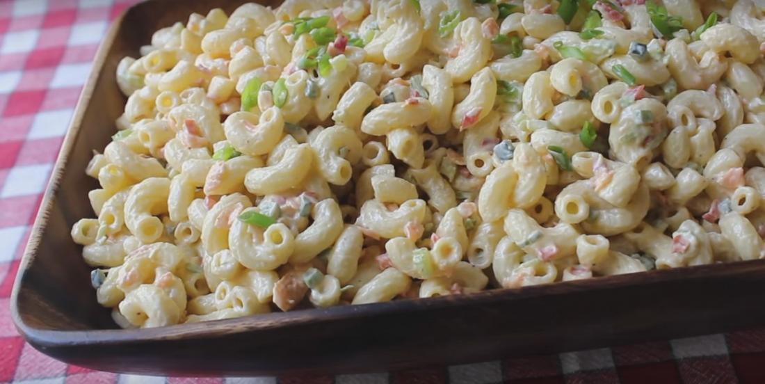 The best macaroni salad I've eaten in my life!