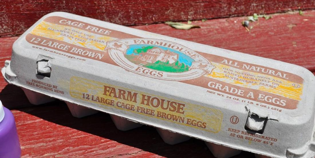 Keep your old egg cartons: They can be recycled and are very practical.