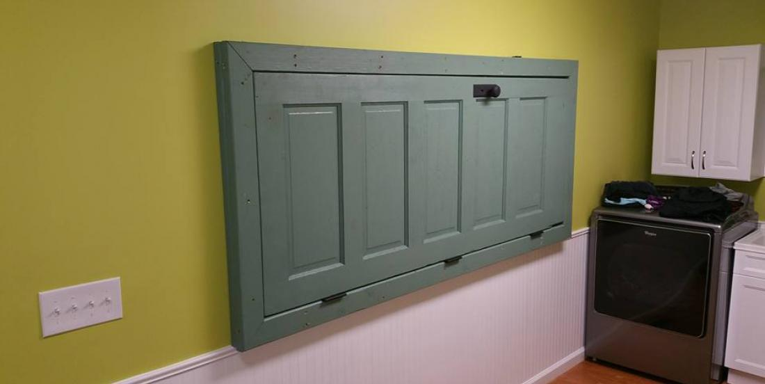 When she asks her husband to install a door in this direction, he thinks she is crazy ... He is wrong!