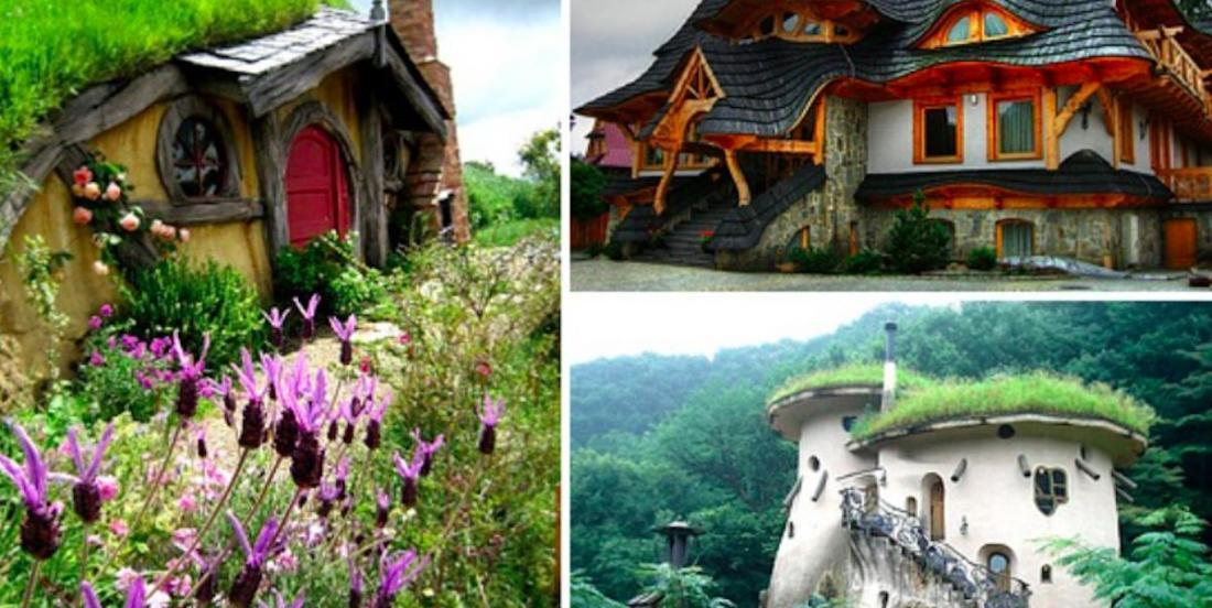 Here are 14 houses that look like they're straight out of a fairy tale!