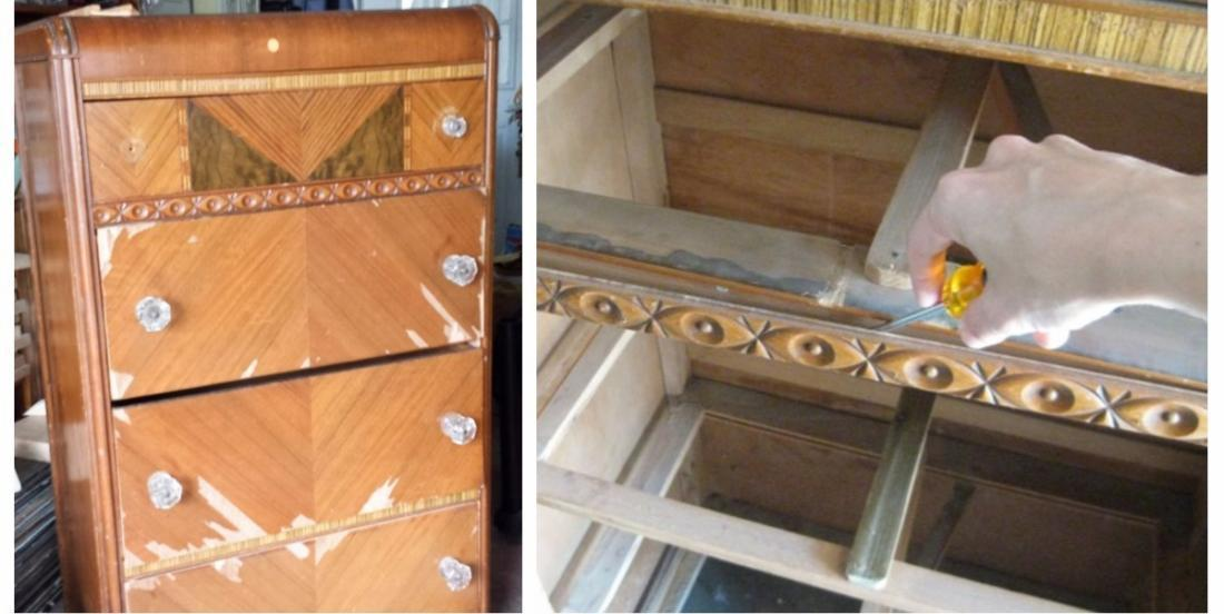 She transforms this old furniture, and the result is amazing!