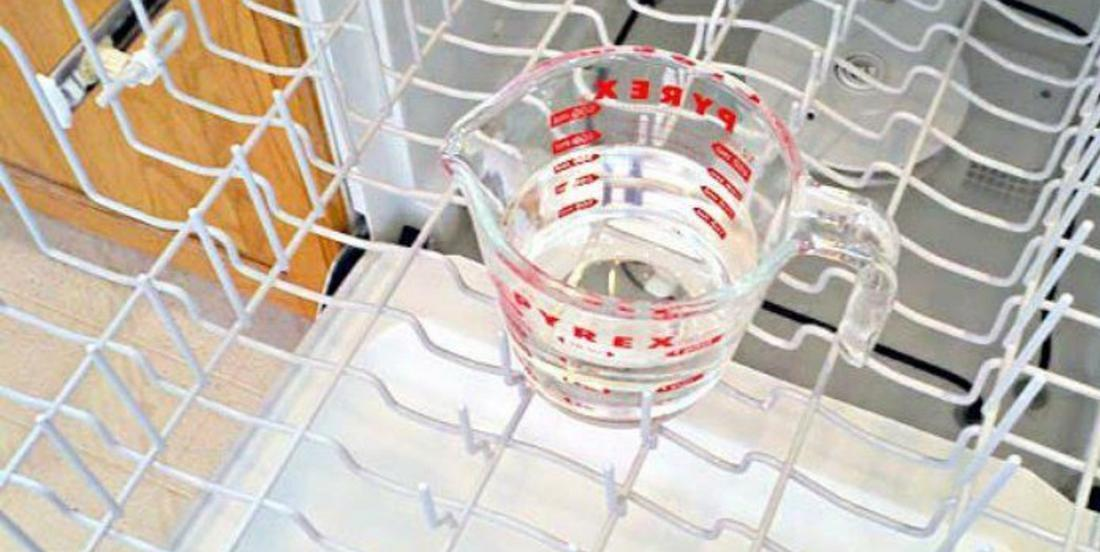 Clean your dishwasher in just 3 easy steps