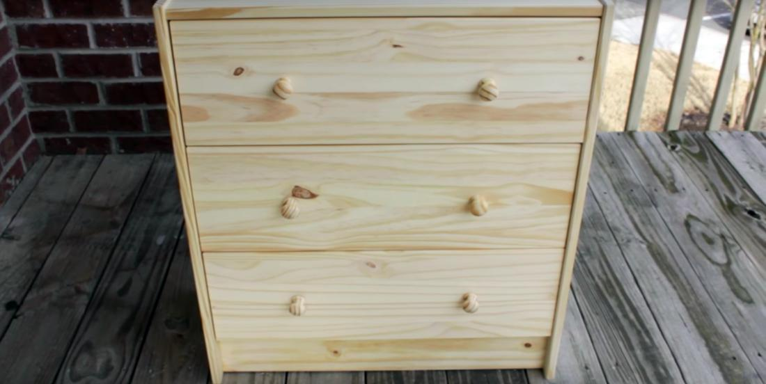 She buys a dresser for a few dollars ... How she transforms it is absolutely stunning, wow!