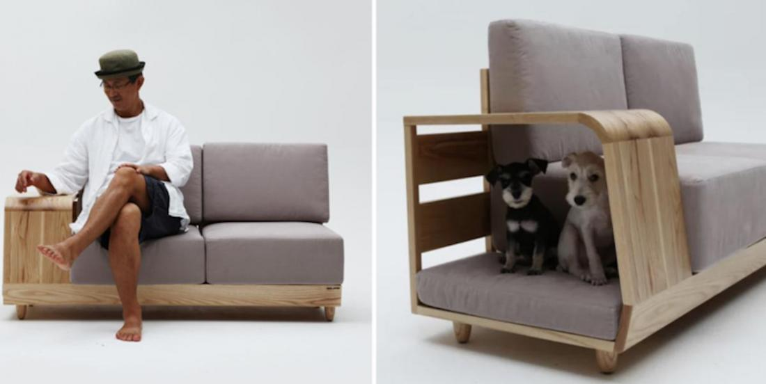 The dream sofa for dog owners