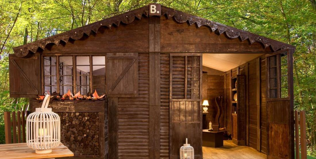For about $76 per night, you can sleep in a house entirely made of chocolate!
