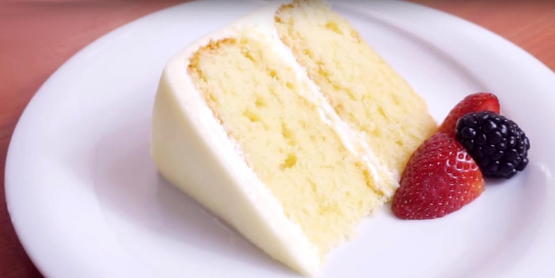 Perfect white cake, here's my secret!