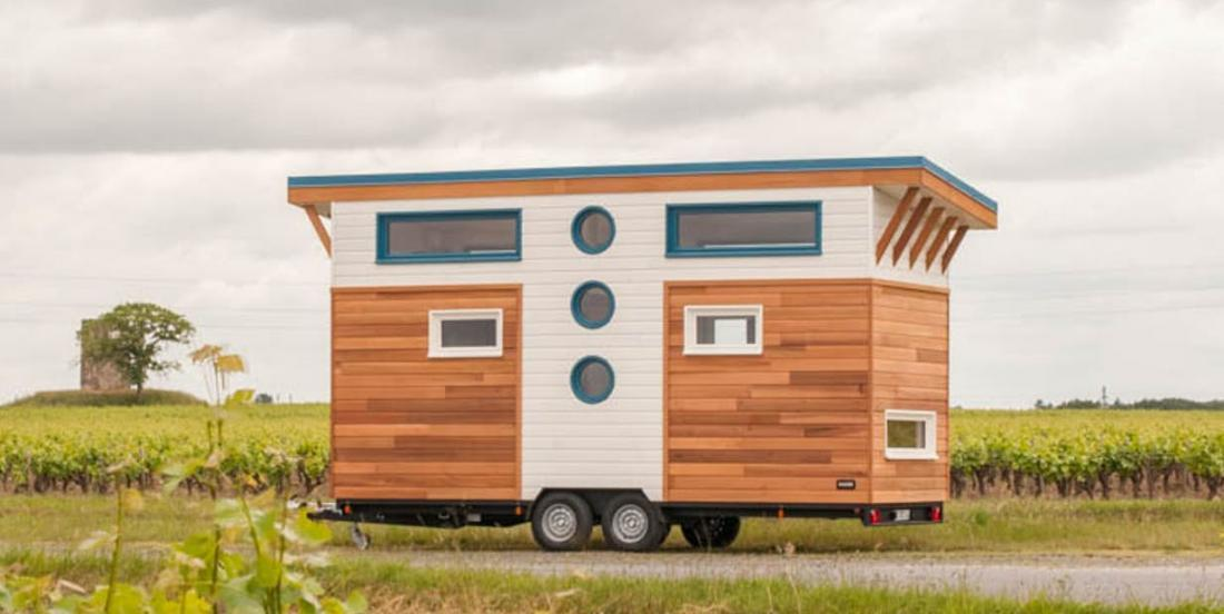 A family of 3 lives in this beautiful tiny house