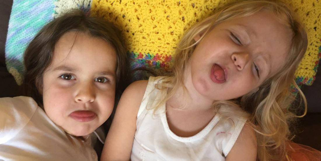 A study shows that all children behave worse with their moms than with other people!