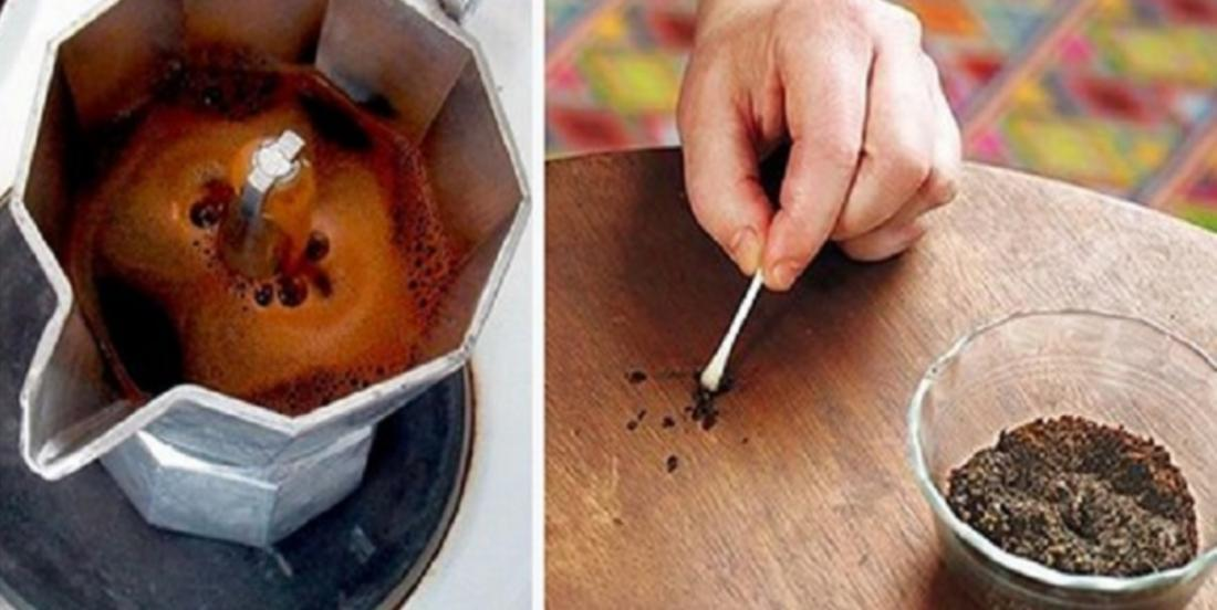 Coffee is not just a beverage, it can be useful in other ways