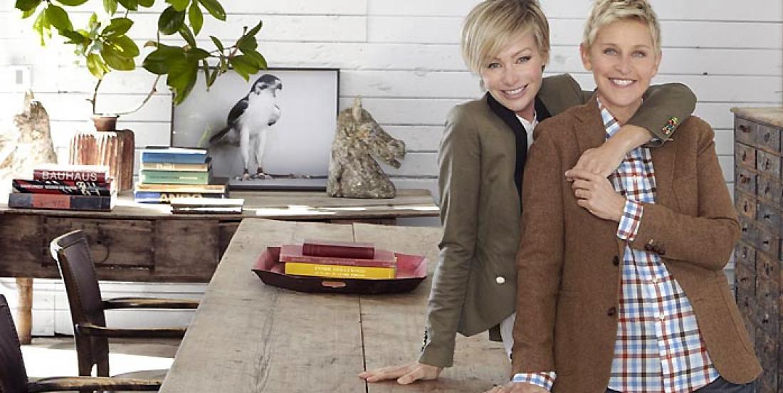 Ellen DeGeneres and Portia de Rossi, know how to handle Hollywood pressure!