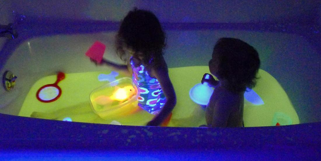 Here are 6 activities to do in the bath that your children absolutely have to try