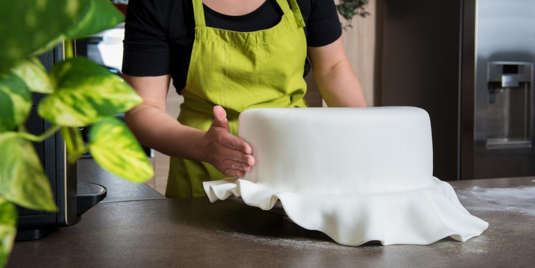 You can not find fondant at the grocery store? Try my recipe that only requires 3 ingredients!