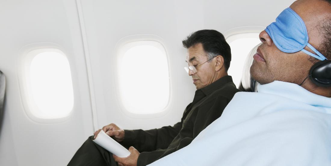 Here's why you should never use the blanket in the plane