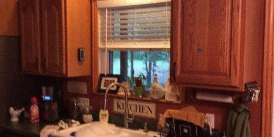Absolutely no one wants to believe that she spent only $200 in renovating her kitchen!