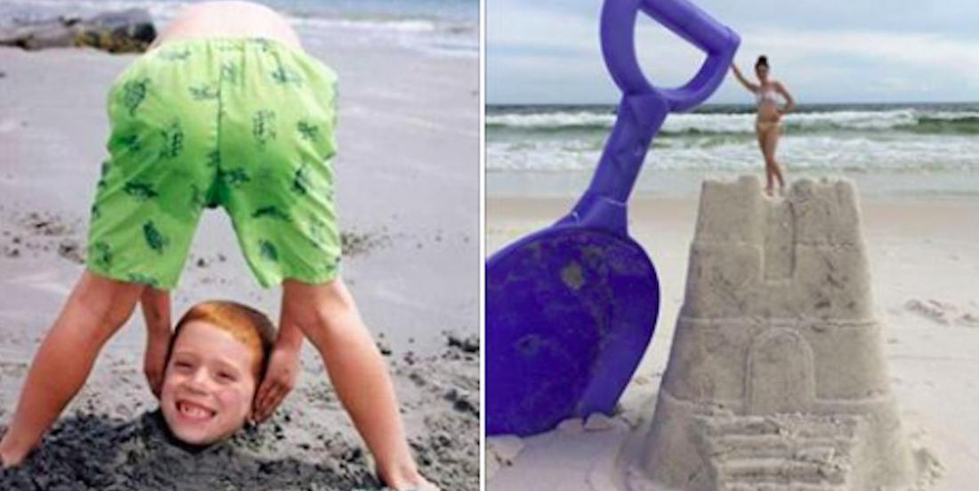 6 original photos to take at the beach this summer