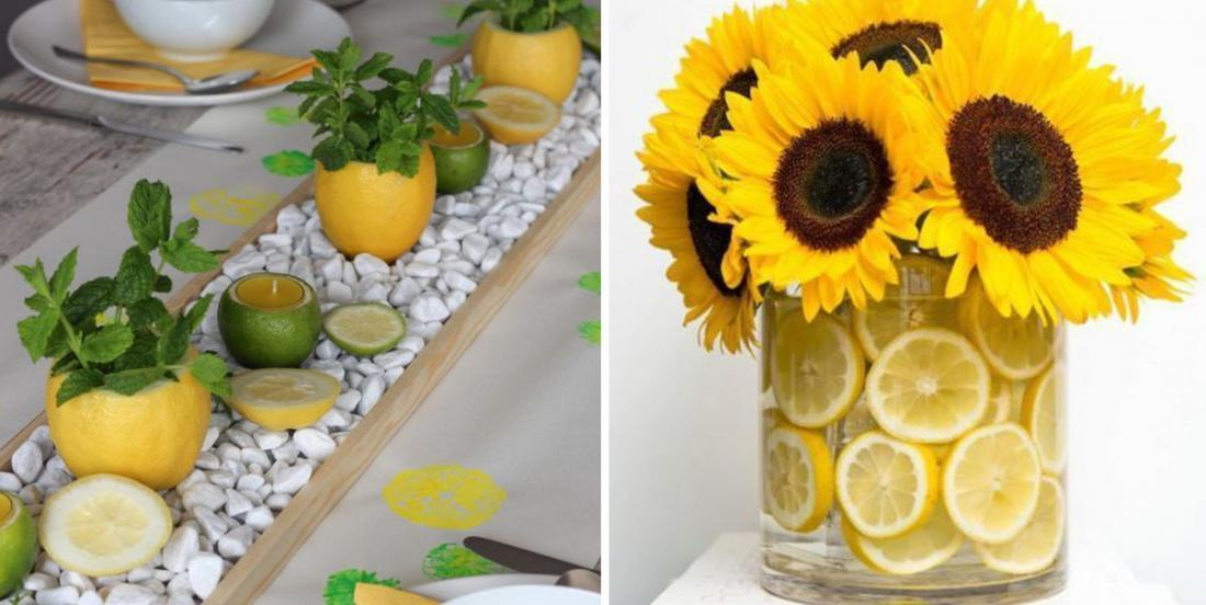 Here are 10 beautiful centerpieces for a decor brimming with freshness