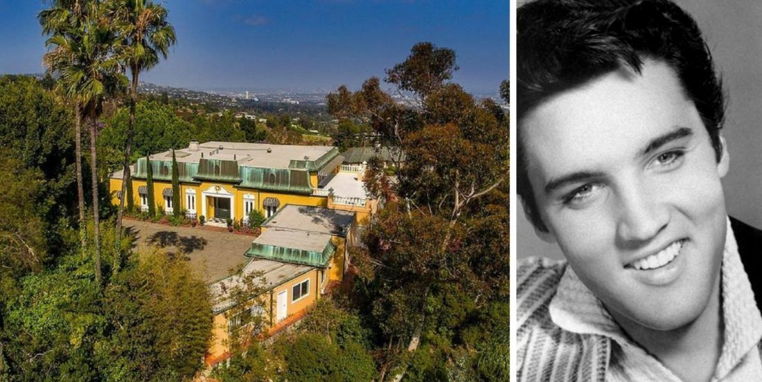This old mansion where Elvis Presley might have resided is now on the market for $23.4 million.