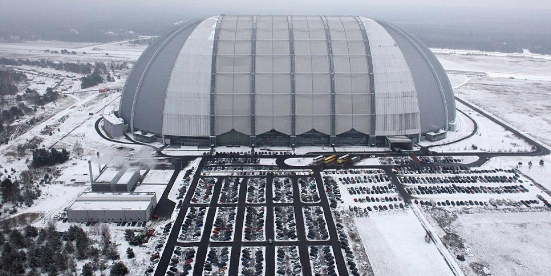 Thousands of people visit this gigantic dome every year