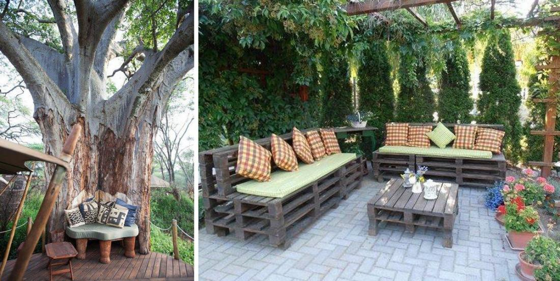 10 great ideas for a relaxing garden!